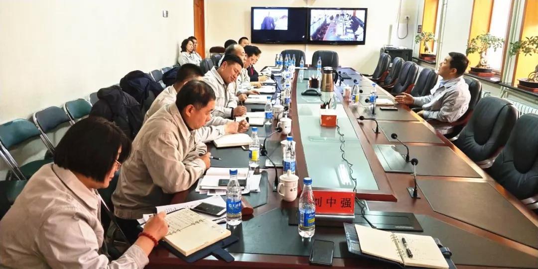 节后第一天,戴志浩专程到88必发娱乐官网公司调研指导工作